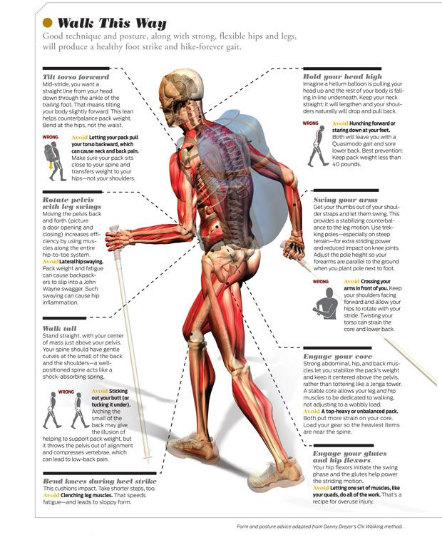 Backpacker Magazine - How to Walk: Improve Your Strike, Lessen Leg and Back Pain