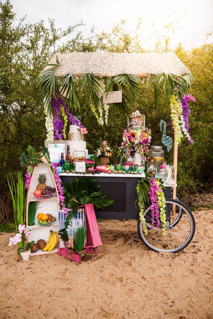 Tropical Wedding – Ideen für eure Strandbar auf der Hochzeit | Hochzeitsblog The Little Wedding Corner