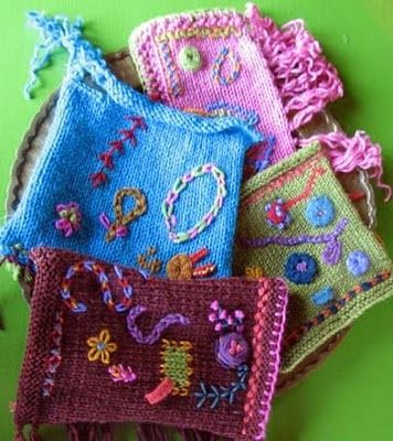 Knitting Stitch Embroidery Patterns : 115 best images about Embroidery, edging & embellishments on knitting on ...