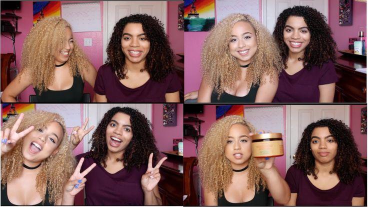 Curl Chat : Blonde Hair,  Hair Routine,  & Overcoming Dry Hair    Natura...