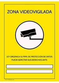 31 best cartel de prohibido images on pinterest - Cartel zona videovigilada ...