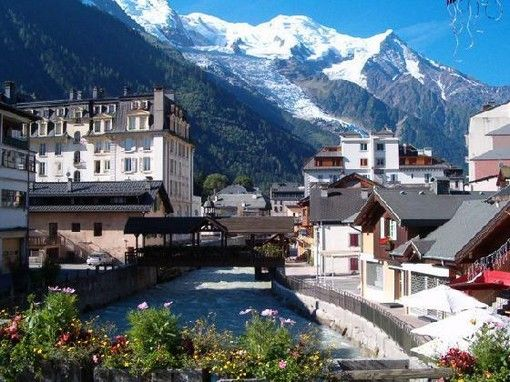 Without a doubt, one of the most beautiful places on earth... Chamonix, France.