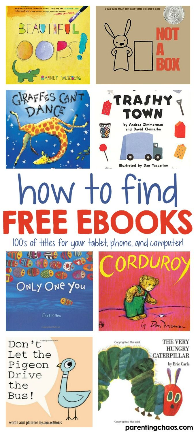 finding free ebooks for kids