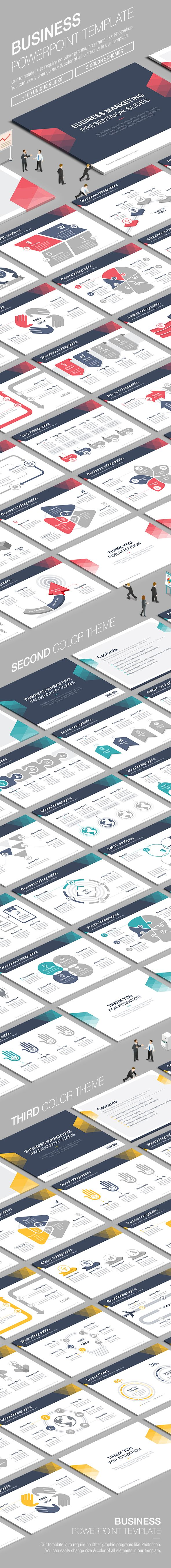 Business Powerpoint Template. Download here…
