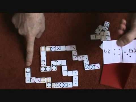 predict the outcome of a game of dominoes BEFORE IT EVEN BEGINS.