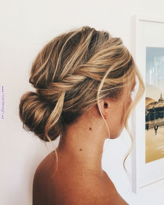 Bridesmaidshair by me… #hairstyle #wedding On #upstyle #hairstyle #bridesmaids #bridesmaid #lowbun