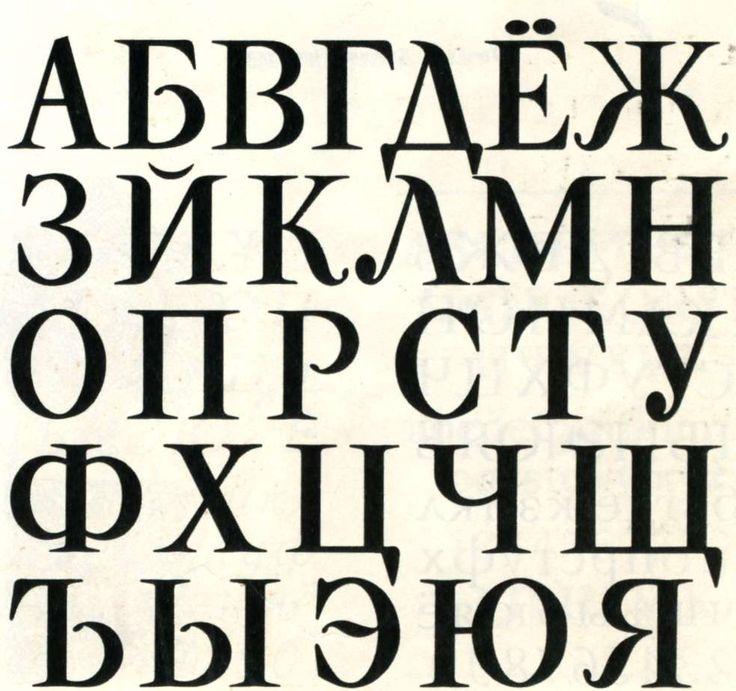 Идеи, шрифты в картинках