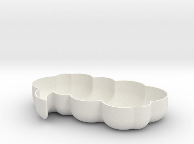 Let's think!  Customizable bowl 3d print. #madebymagnusgreni