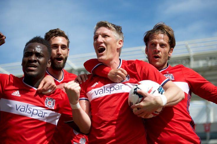 Schweinsteiger-Premiere in Chicago: Fußballgott im Industriepark - SPIEGEL ONLINE - Sport