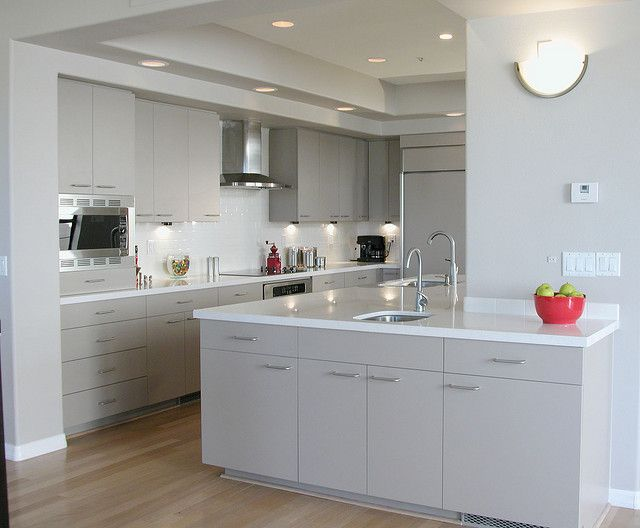 A common misconception is that your laminate cabinets are stuck ...