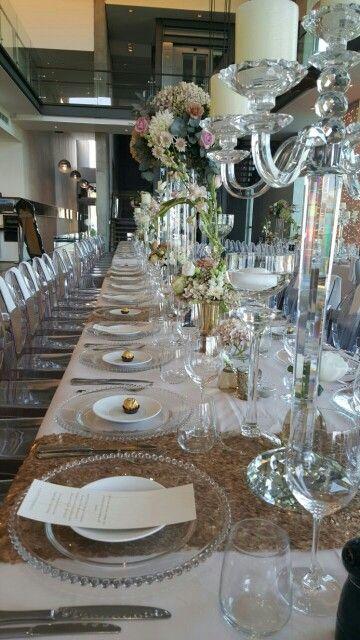 Classical table settin
