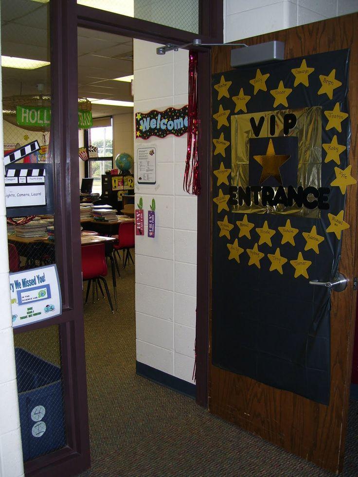 hollywood classroom theme | Tech Beyond 4 Walls: Hollywood Classroom Theme Ideas & Decor