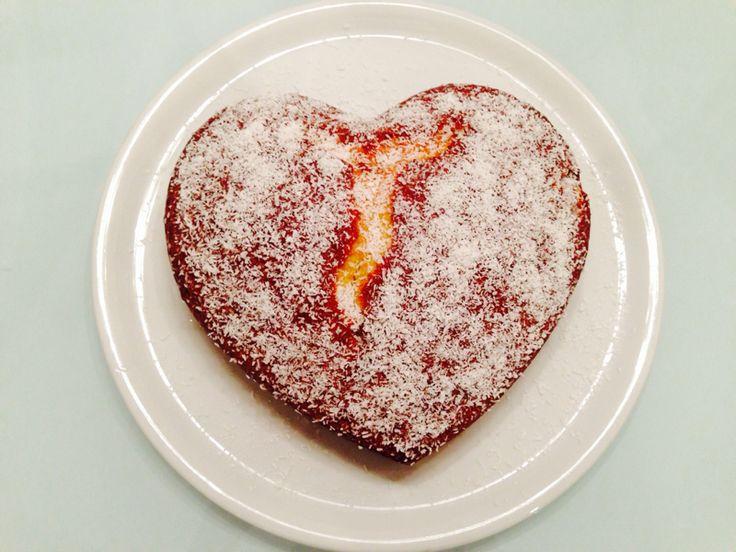 @Cookerfeed Torta arancia, miele e cocco.  Torta#arancia#cocco#miele#profumidelsud#ricettadolci