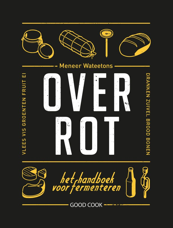 In 'Over rot' kom je alles te weten over fermenteren. Want zonder dat we er bij stil staan eten we elke dag gefermenteerd voedsel; van yoghurt en kaas bij het ontbijt, koffie op het werk, boterhammen bij de lunch tot 's avonds een plakje worst met een biertje voor de buis. Auteur: Meneer Wateetons | ISBN: 9789461431226 | Good Cook