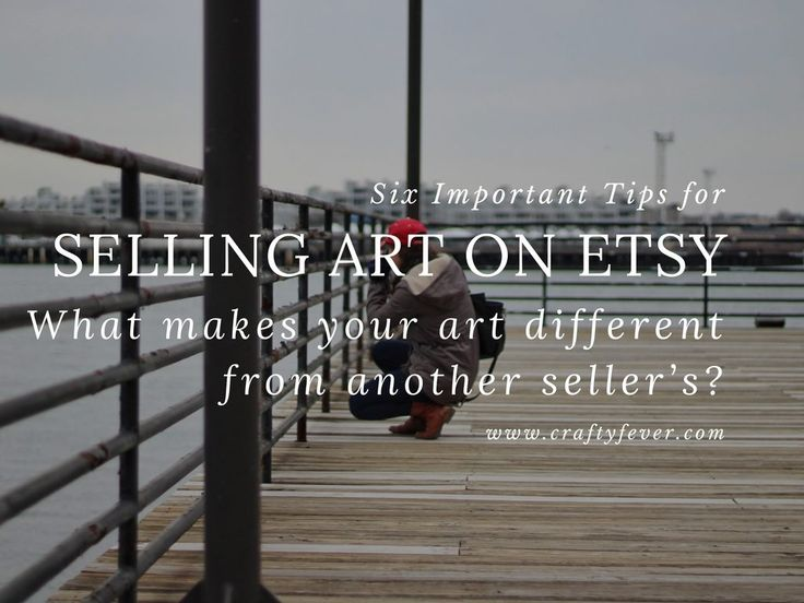 The first step to creating the most fabulous shop on Etsy is to find what really makes your art special. And, there is something!