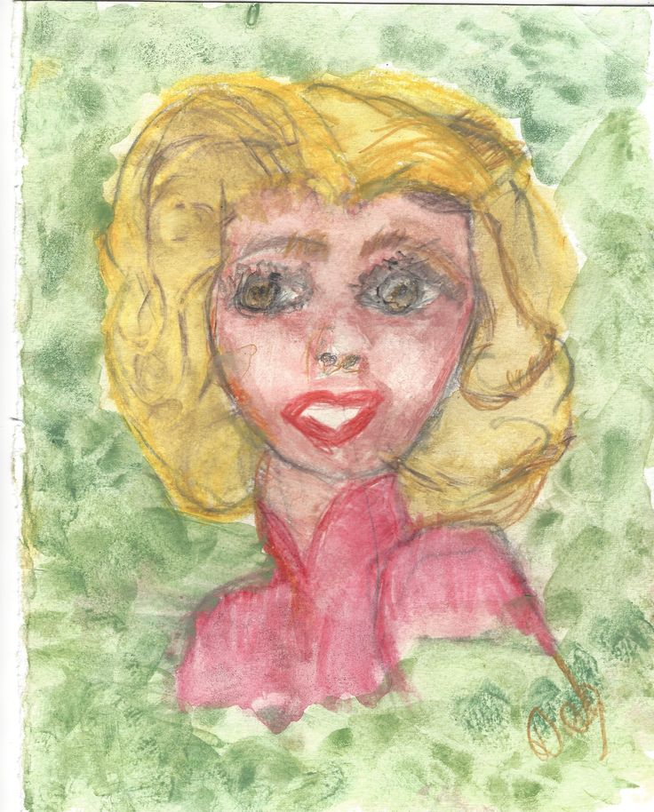 Angie Thought's 2016 Deb Chilton  Wash and line  The thoughts of another person can not be known by ourselves. Eyes hide the most insure souls.