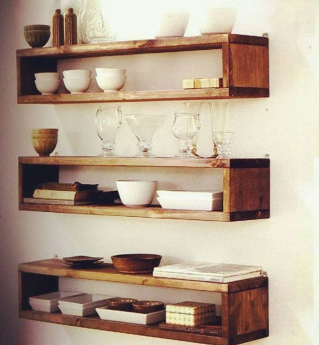Pallet Shelf Floating Shelves Diy Wood Box Shelves Wood