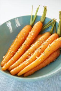 recept in honing geglaceerde worteltjes met komijn