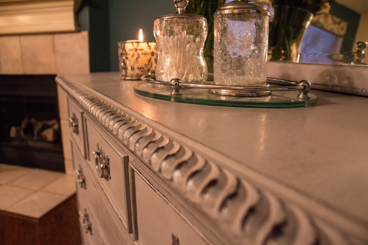 Annie Sloan Paris Grey dresser created by Portilla Design