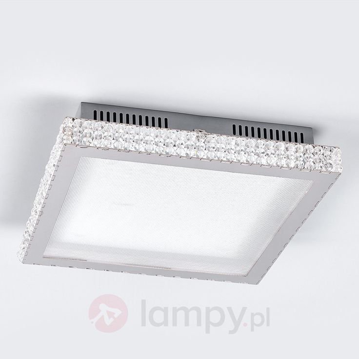 Lampa sufitowa LED ze szklanymi kryształkami 9625043