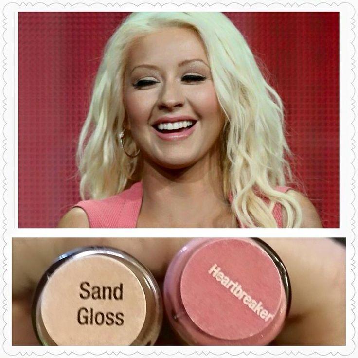 Christina Aguilera in LipSense Heartbreaker, a soft, fresh look for Spring.  www.senengece.com/beautyfx