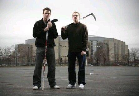 Jonathan Toews and Patrick Kane. Tazer and Kaner. Chicago Blackhawks. Hockey. love.