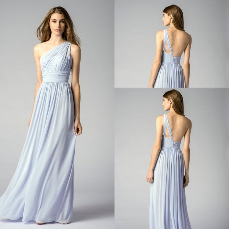2015 hermosa princesa barato largo de la gasa del hombro de la lila de dama de honor vestidos de extremo a extremo del banquete de boda vestido debajo de 79 en Vestidos de Damas de Honor de Bodas y Eventos en AliExpress.com | Alibaba Group