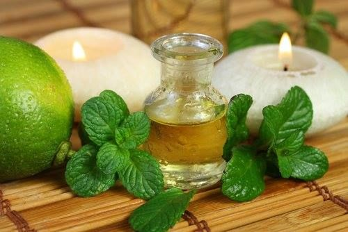 Peppermint oil has a wonderfully soothing effect when you're suffering from a headache, easing the discomfort and clearing your mind.  www.foodmatters.tv