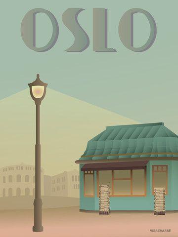 OSLO - Newspaperstand