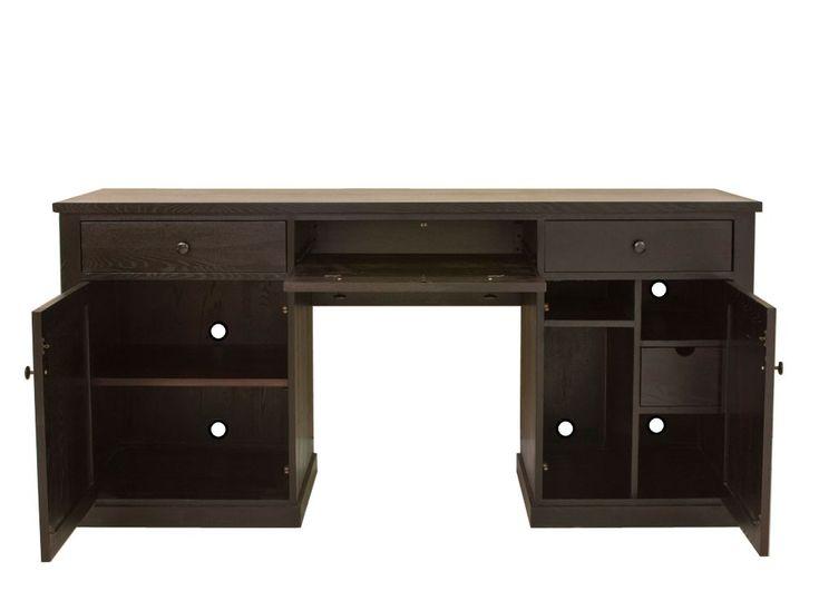 14 Amazing Dark Wood Computer Desk Photo Ideas