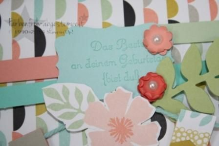 Geschenkverpackung mit Designerpapier aus der SAB 2014, Stampin'UP! www.farbenfroh-abgestempelt.de