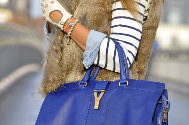Yves Saint Laurent Cabas Chyc Tote #YSL http://fashionfix.net-a ...
