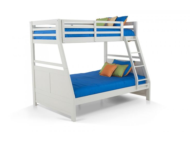 1000 Ideas About Twin Full Bunk Bed On Pinterest Bunk Bed Sets Quad Room And Bunk Bed Rooms