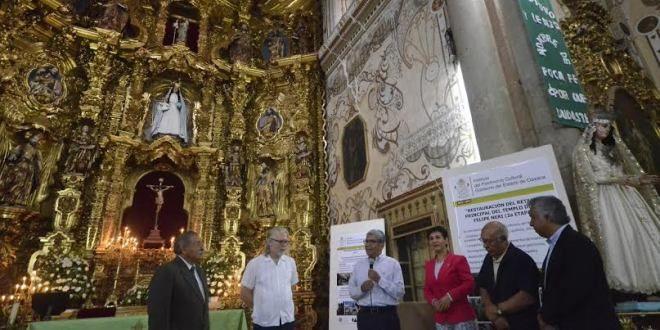 Oaxaca Digital | Gobierno de Oaxaca y Fundación Harp, restauran el Templo San Felipe Neri