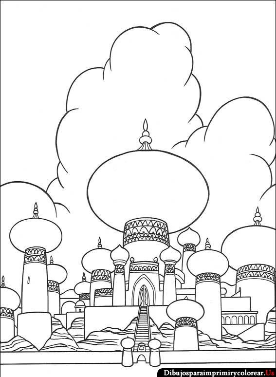 44 best Aladdin ~ Disney Coloring Pages images on Pinterest ...