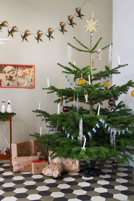 Gammaldags jul - Inspiration: Byggfabriken – modern byggnadsvård