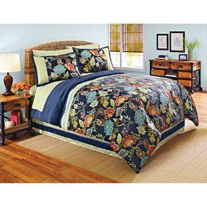 23 best exotic ikat beddings images on pinterest ikat - Better homes and gardens comforter sets ...