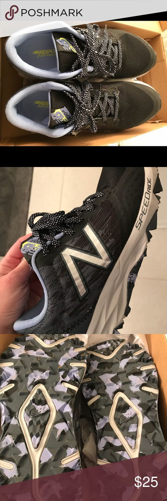 New balance trail running sneakers women's size 8 New balance wt690lb2 trail running women's size 8 m sneakers. Only worn 5 times!! Like new New Balance Shoes Athletic Shoes