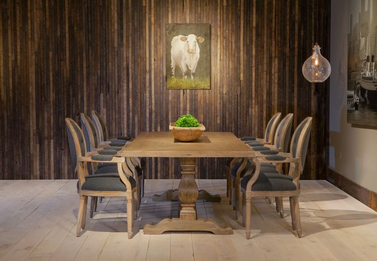 Bring your family back to the dinner table with this dramatic dining room. www.augusthaven.com