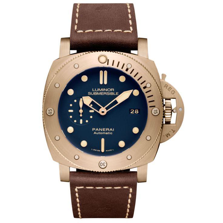 Panerai [NEW][LIMITED 1000][限量1000支] PAM 671 Luminor Submersible 1950 3 Days Automatic Bronzo Watch (Retail:US$14,400) Our Price: HK$150,000. #panerai #panerailimited #paneraispecialaddition #luminorBronzo #bronzoSubmersible #SubmersibleBronzo #pam671 #pam00671 #panerai671