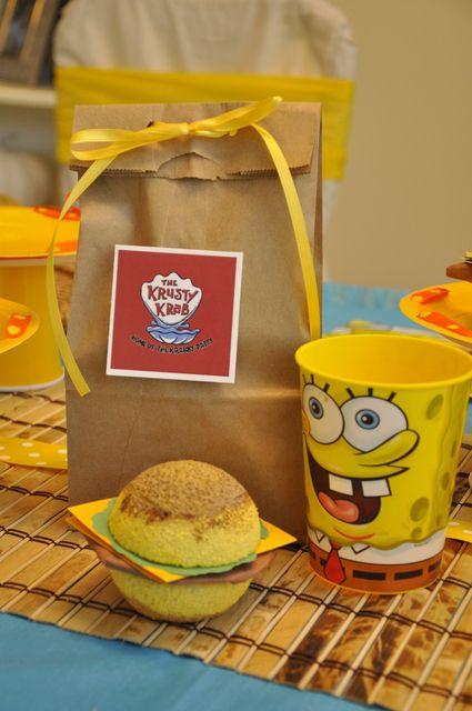 "Photo 24 of 48: Spongebob Square Pants / Birthday ""SpongeBob Birthday Party"" | Catch My Party"
