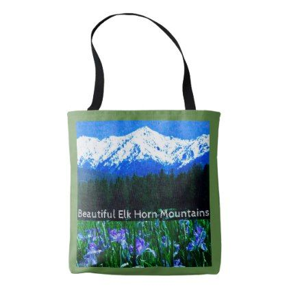 Elk Horn Mountain Tote Bag - beauty gifts stylish beautiful cool