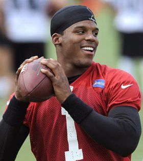 Cam Newton - Team and position: Carolina Panthers Quarterback Age: 25   Known for: This former Heisman Trophy winner has broken all sorts of records throughout his college football and NFL career, including 14 rushing touchdowns, the most ever in a single season by a quarterback in NFL history. His dimples and humble attitude are just two more reasons why this player is considered America's sweetheart.  Romantic status:  Although he's been linked to a few women in the past, Newton has never…