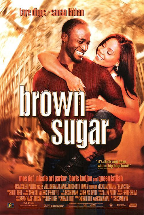 Brown Sugar Movie Poster 27x40 Used Laye Diggs, Sanaa Lathan