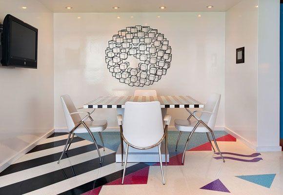 Miami Vice-style condo - Art Deco