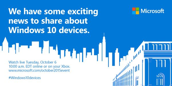 Microsoft's Surface Pro 4 and new phones to be revealed - GeekSnack