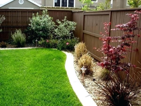 easy garden ideas along fence line google search with on backyard fence landscaping id=90319