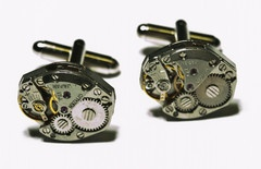 I love a nice cuff link set.  http://overman.myshopify.com/collections/mens-1