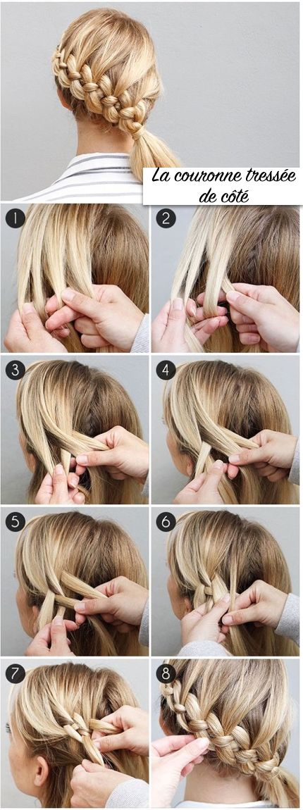 17 Best ideas about Coiffure Facile on Pinterest | Easy hair up ...