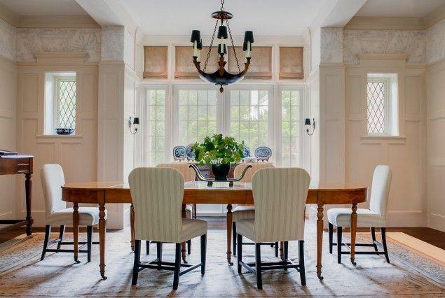 Dining room interior architecture tudor style houses - Interior design firms washington dc ...